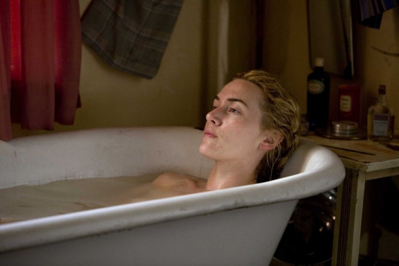 Kate Winslet in un'immagine di The Reader