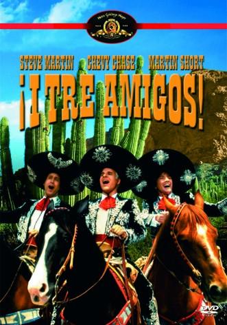 La copertina di I tre amigos (dvd)