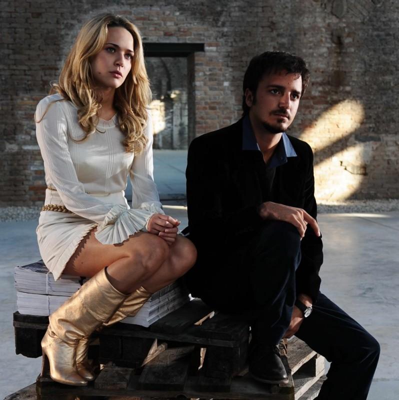 Laura Chiatti e Nicolas Vaporidis in una sequenza del film Iago