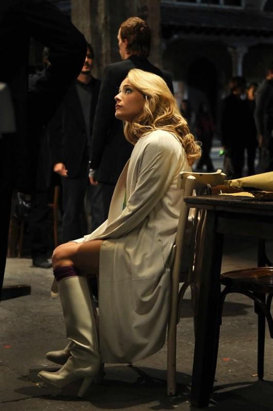 Laura Chiatti sul set del film Iago
