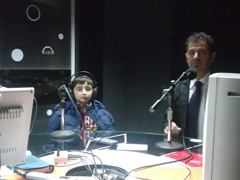 Leonardo Bertuccelli ospite ad RTM