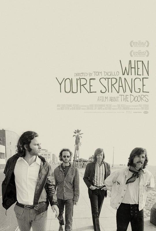 Locandina del film When you're strange
