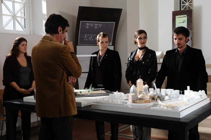 Lorenzo Gleijeses, Giulia Steigerwalt e Nicolas Vaporidis in un'immagine del film Iago