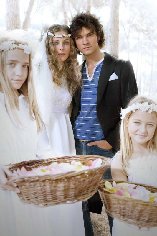 Maria P. Petruolo e Emanuele Bosi in una foto promozionale del film Questo piccolo grande amore