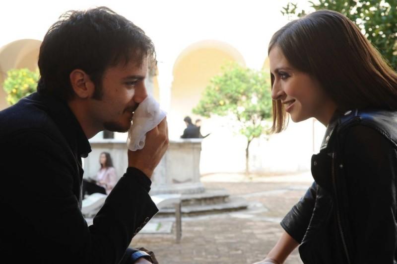 Nicolas Vaporidis e Giulia Steigerwalt in un'immagine di Iago