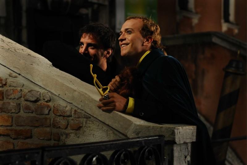 Nicolas Vaporidis e Lorenzo Gleijeses in un'immagine del film Iago