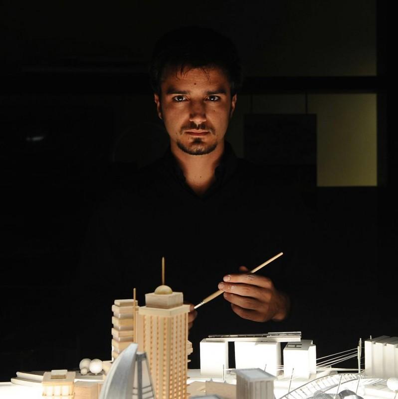 Nicolas Vaporidis in un'immagine del film Iago, diretto da Volfango De Biasi
