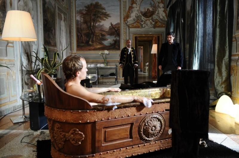 Nicolas Vaporidis in una sequenza del film Iago
