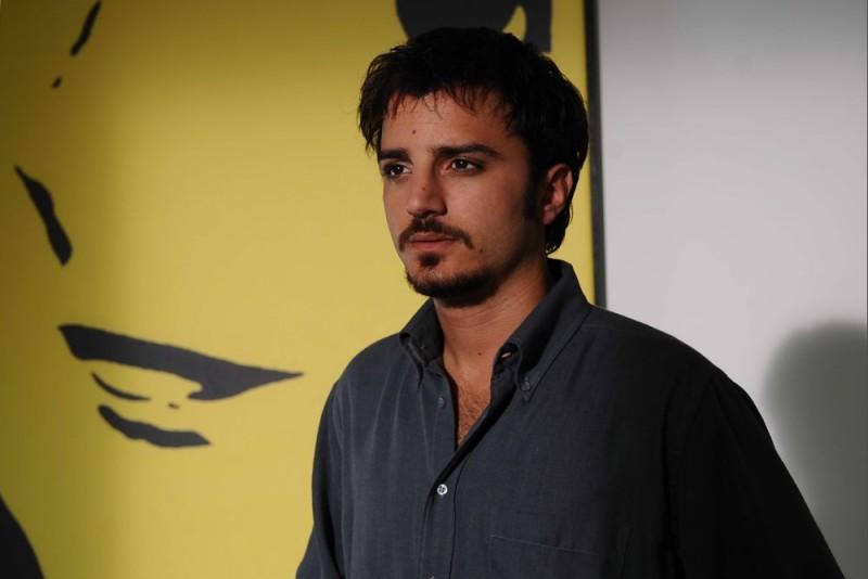 Nicolas Vaporidis in una sequenza del film Iago, diretto da Volfango De Biasi