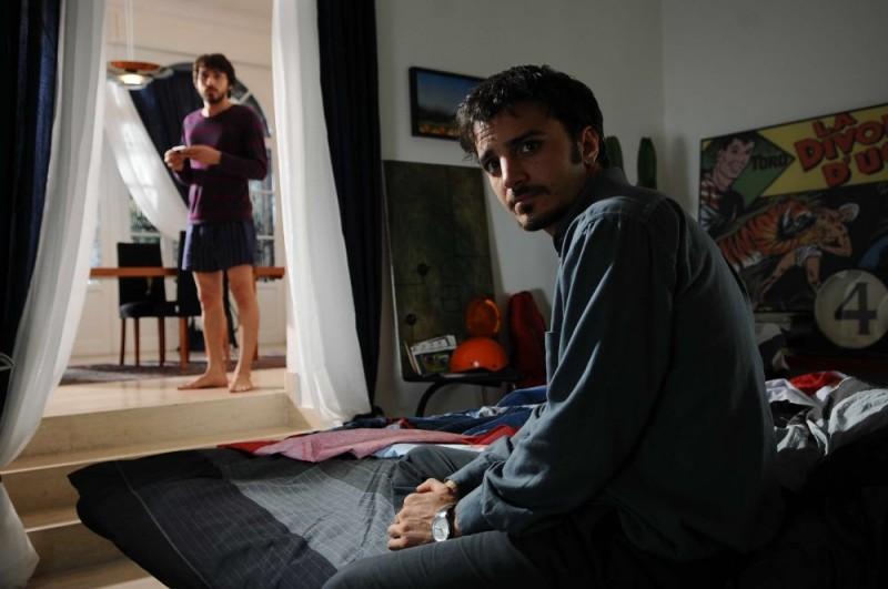 Nicolas Vaporidis in una sequenza di Iago