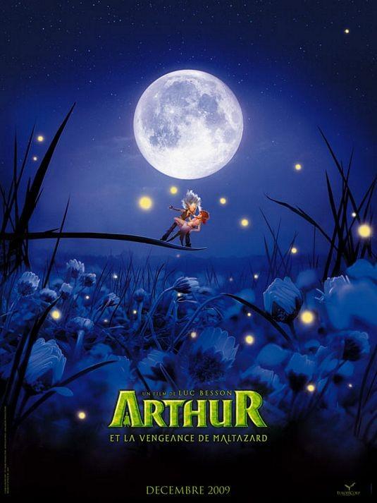 Poster francese per Arthur et la vengeance de Maltazard