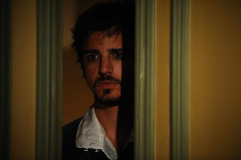 Un primo piano di Nicolas Vaporidis, protagonista del film Iago