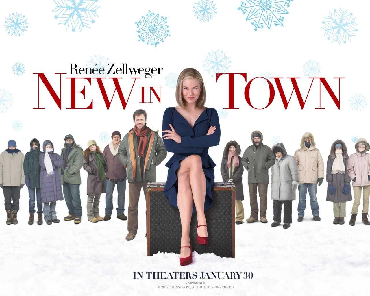 Wallpaper del film New in Town