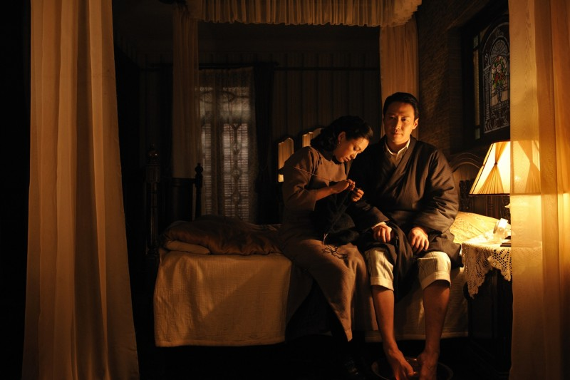 Cheng Hong con Leon Lai nel film film Forever Enthralled (Mei Lanfang) in cartellone a Berlino 2009