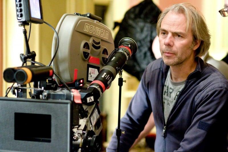 Il regista Harald Zwart sul set del film La pantera rosa 2