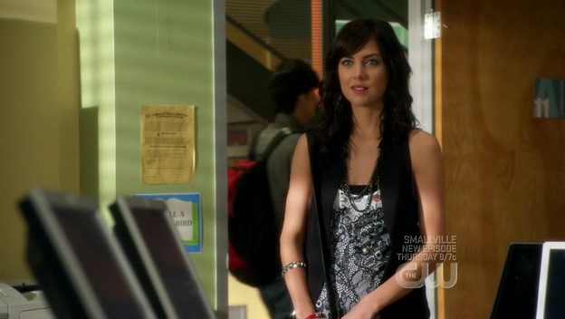 Jessica Stroup in un momento dell'episodio By Accident di 90210