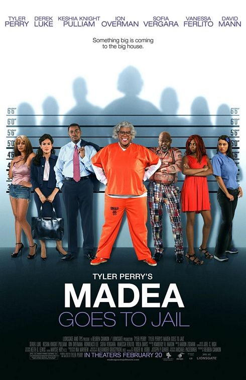 Nuovo poster per Madea Goes to Jail