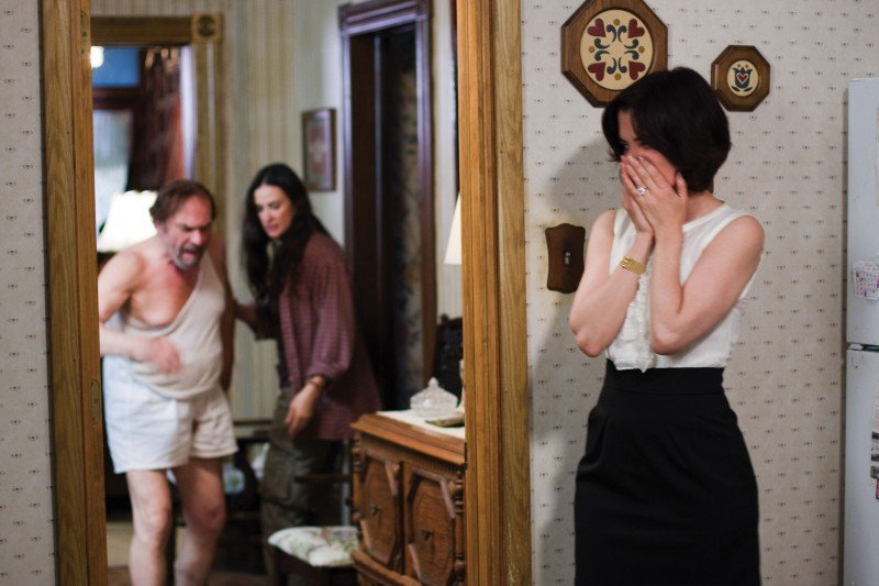 Rip Torn, Demi Moore e Parker Posey nel film Happy Tears, in concorso a Berlino 2009