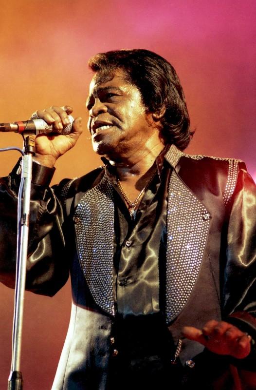 Una foto di James Brown
