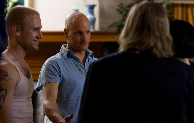 Ben Foster e Woody Harrelson nel film The Messenger