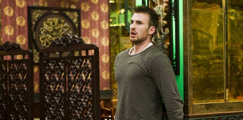 Chris Evans è Nick Gant nel film Push