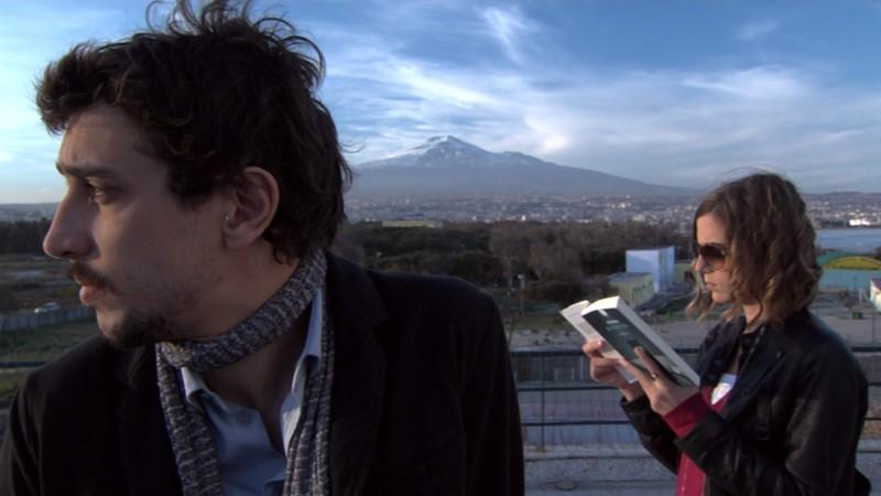 Corrado Fortuna nel film Una notte blu cobalto