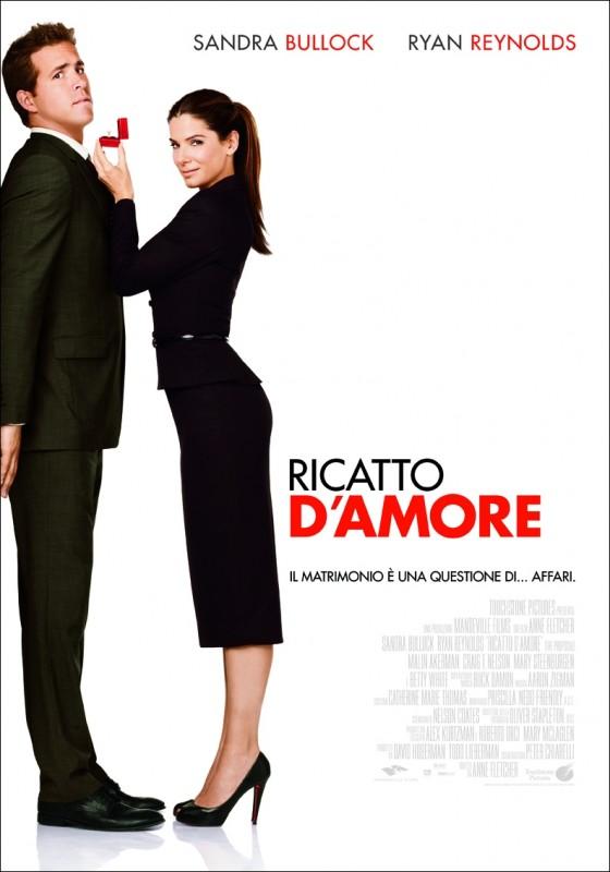 La locandina italiana di Ricatto d'amore