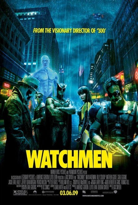 Locandina definitivca di Watchmen