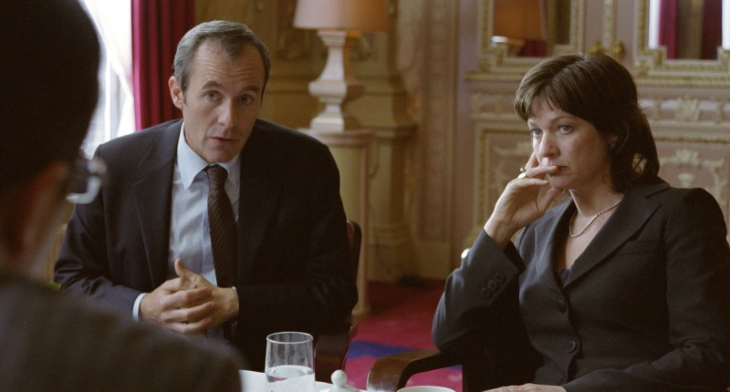 Stephen Dillane e Kerry Fox in una scena del film Storm