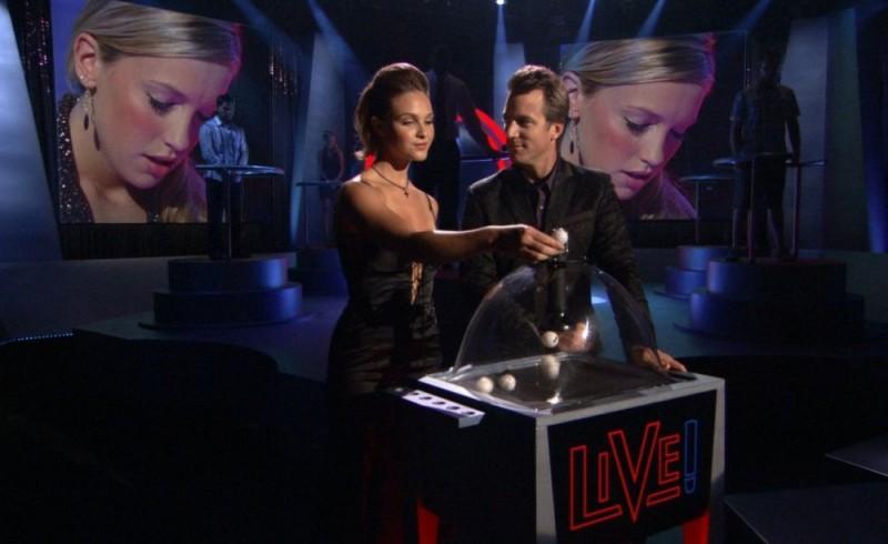 Un'immagine del film Live! - Ascolti record al primo colpo