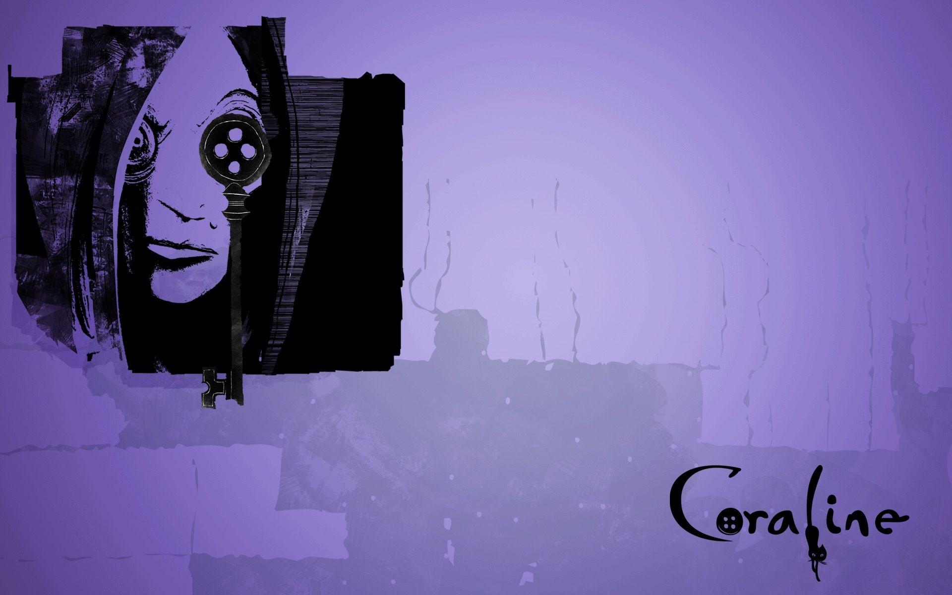 Un wallpaper del film d'animazione Coraline e la porta magica