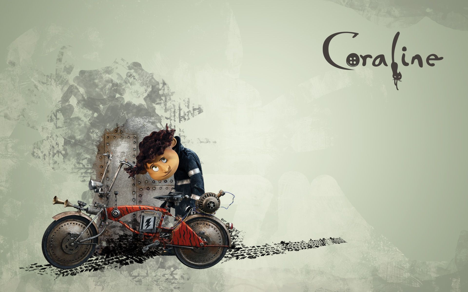 Wallpaper del film d'animazione Coraline e la porta magica