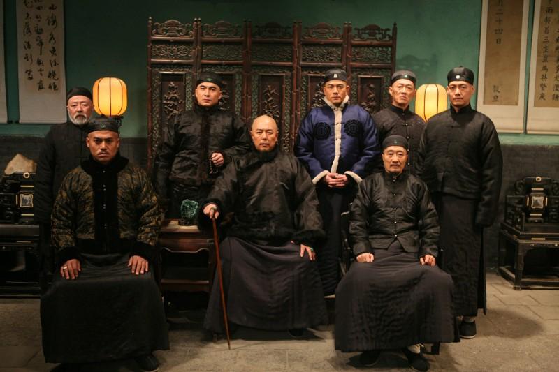 Aaron Kwok e il cast del film Empire Of Silver (Baiyin Diguo)