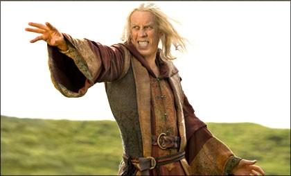 Bruce Spence in una scena dell'episodio Elixir della serie tv 'Legend of the Seeker'