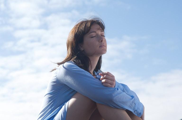 Cristiana Capotondi in una scena del film Ex