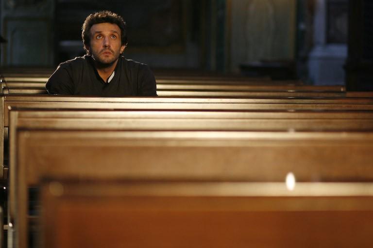 Flavio Insinna in un'immagine del film Ex