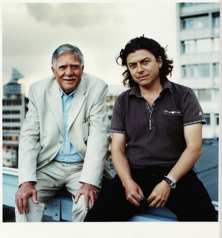 Gli autori del film In Berlin, Michael Ballhaus e Ciro Cappellari