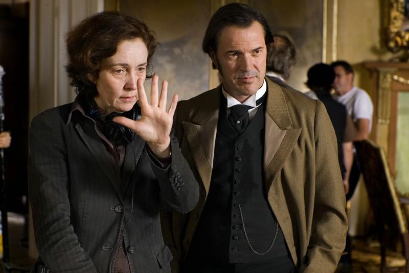 Hermine Huntgeburth e Sebastian Koch in Effi Briest, film presentato nella sezione Berlinale Special 2009