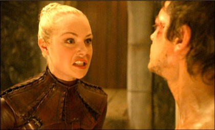 Jessica Marais nell'episodio 'Denna' della serie tv Legend of the Seeker
