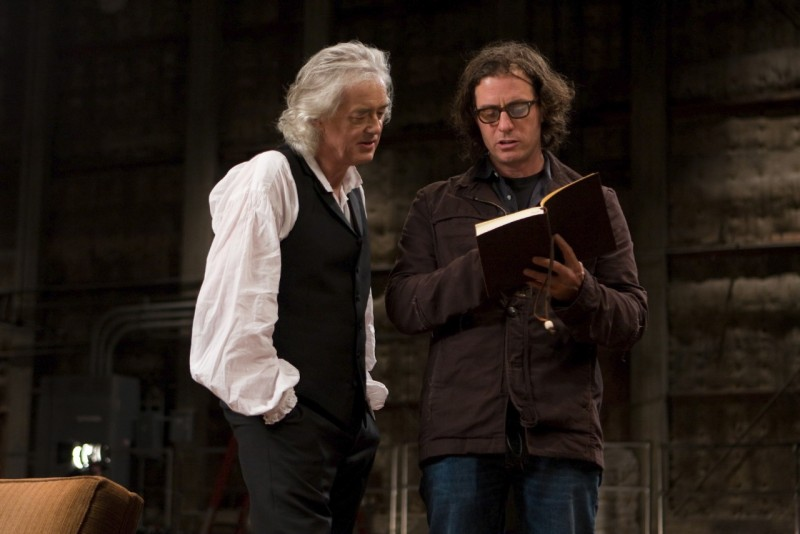 Jimmy Page con Davis Guggenheim nel documentario musicale It Might Get Loud