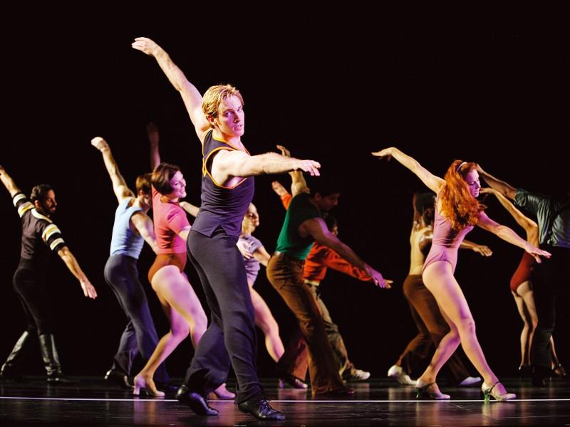 Scena del documentario Every Little Step, incentrato sulla genesi e la realizzazione del musical A Chorus Line