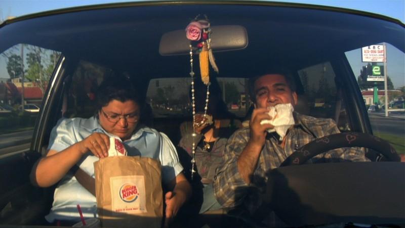 Una sequenza del film Food, Inc.