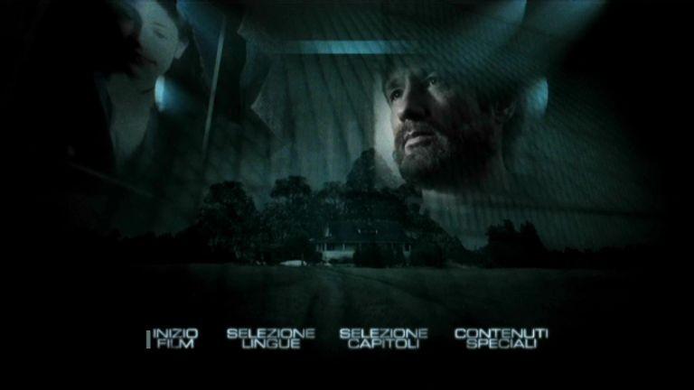 Il menù principale di X-Files: Voglio crederci - Edizione speciale