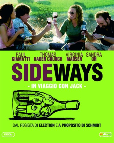 la copertina di Sideways Bluray