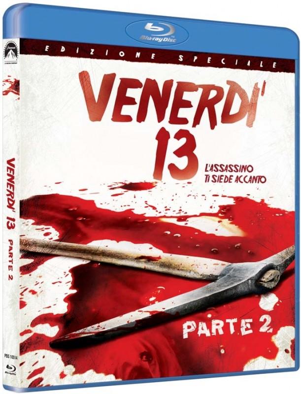 La copertina di Venerdì 13 parte II - l'assassino ti siede accanto (blu-ray)