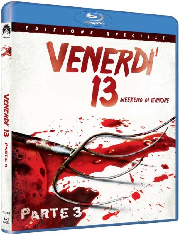 La copertina di Venerdì parte III - week end di terrore (blu-ray)