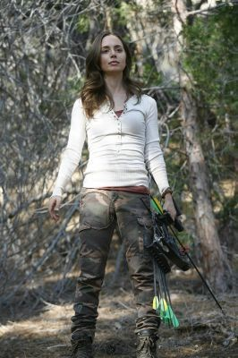 Eliza Dushku in una scena dell'episodio The Target di Dollhouse