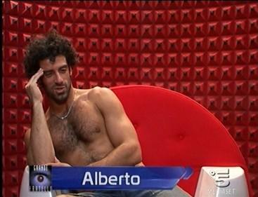 Grande Fratello 9 - Alberto in confessionale