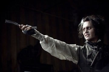 Johnny Depp è il miglior attore protagonista ai Movieplayer.it Awards 2009, per il film di Tim Burton Sweeney Todd