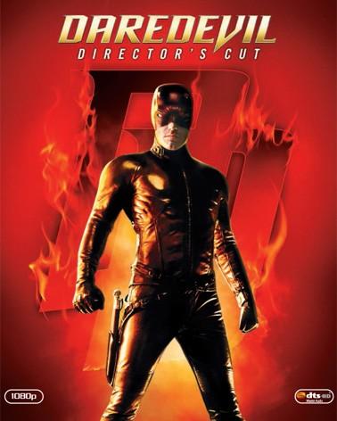 La copertina di Daredevil (blu-ray)